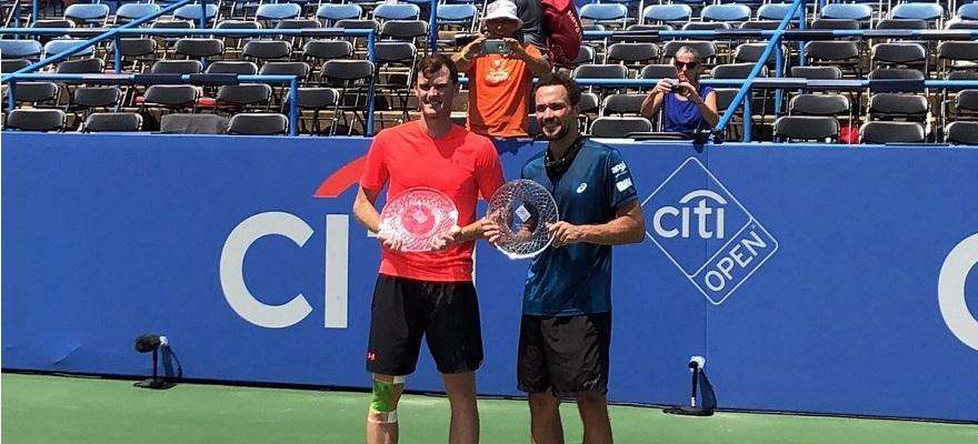 Bruno Soares e Jamie Murray são campeões do ATP 500 de Washington