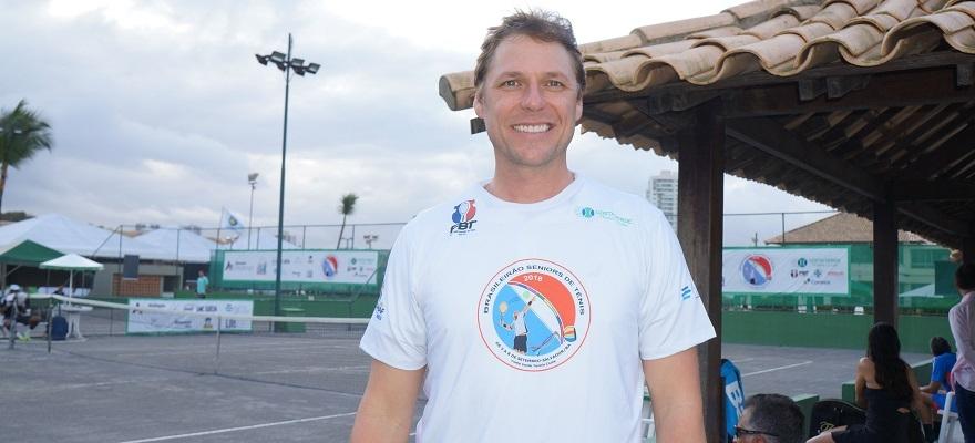 Presidente da CBT prestigia Brasileirão Sêniors, em Salvador