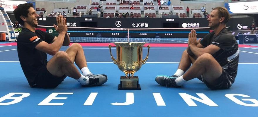 Marcelo Melo é campeão do ATP 500 de Beijing