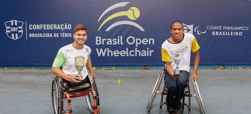 Brasileiros dominam finais do Brasil Open Wheelchair Tennis, em São Paulo