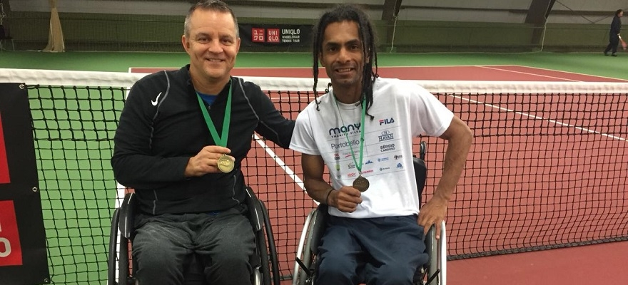 Ymanitu conquista 3º lugar de Quad no Uniqlo Wheelchair Doubles Masters