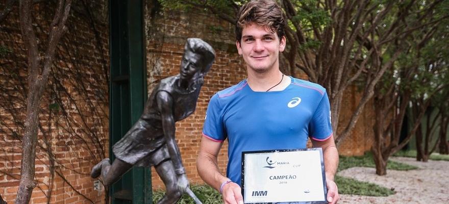 Wild é campeão da MEB Cup e fatura vaga na chave principal do Rio Open
