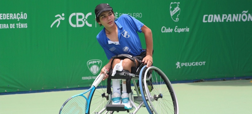 Atletas do Esperia são destaque em torneio de Tênis em Cadeira de Rodas