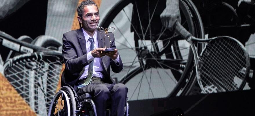 Ymanitu Silva fatura Prêmio Paralímpico 2018 de melhor tenista