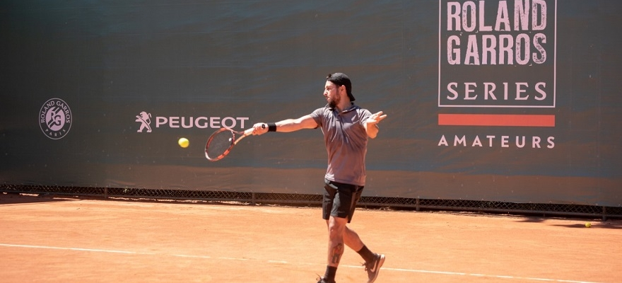 Master do Roland-Garros Amateur Series by Peugeot conhece classificados