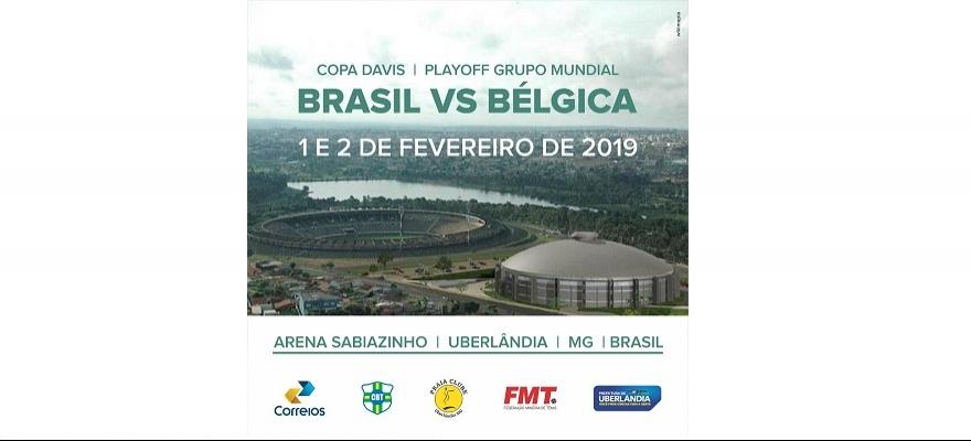 Aberto credenciamento de Imprensa para Copa Davis em Uberlândia