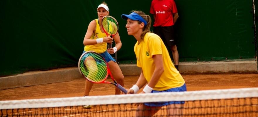 Dupla decide e Time Brasil vence mais uma no Zonal da Fed Cup