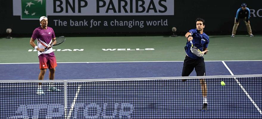 Marcelo Melo avança nas duplas e vai à semifinal em Indian Wells