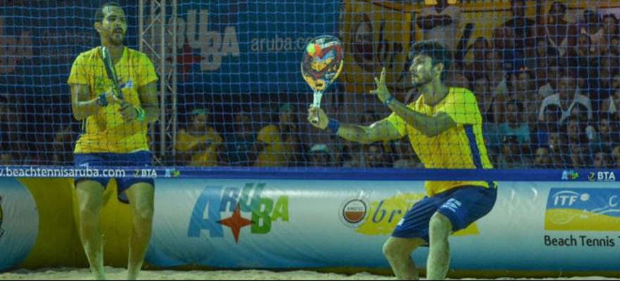 Campeão do Mundial e do Pan, Brasil disputa Sul-Americano de Beach Tennis