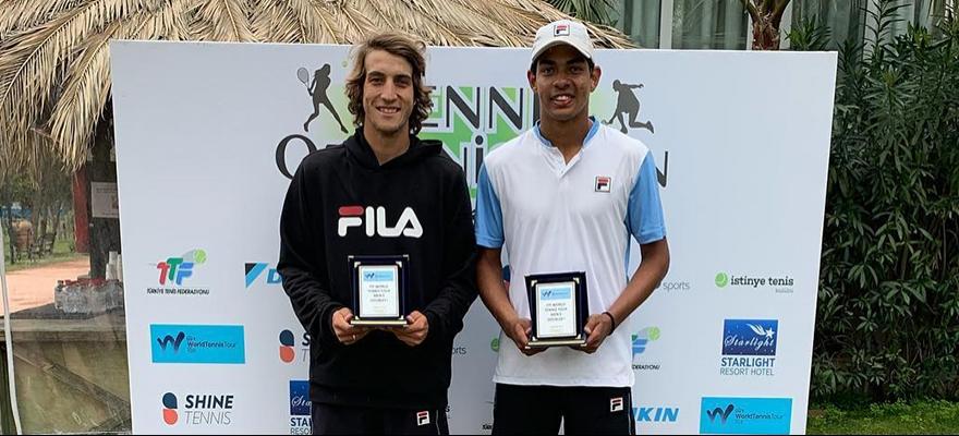 Brasileiros são campeões nas duplas na Turquia e em Campinas