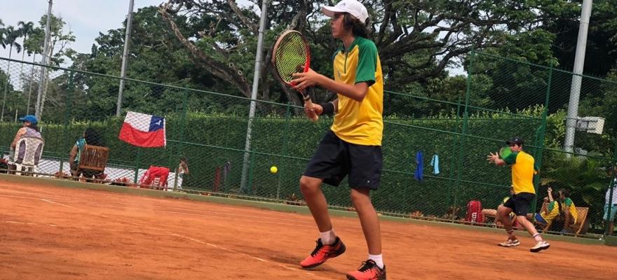 Brasileiros vencem o segundo confronto no Sul-Americano 14 anos