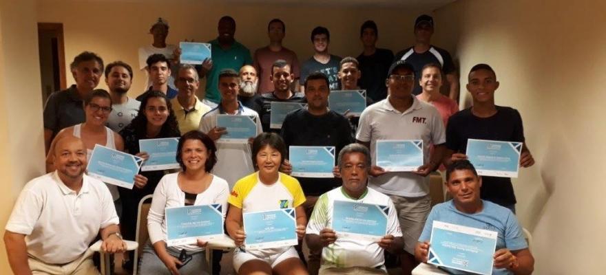 CBT formou 37 novos árbitros em três cursos nas últimas semanas