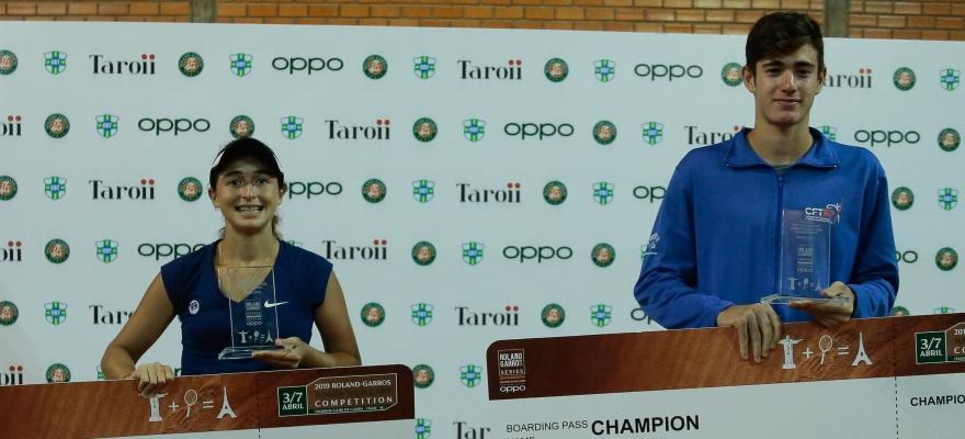 Brasileiros competem em Paris por vaga no Roland-Garros Júnior