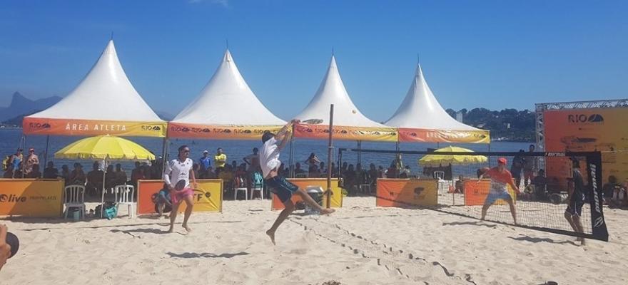Niterói recebe etapa de torneio internacional de Beach Tennis