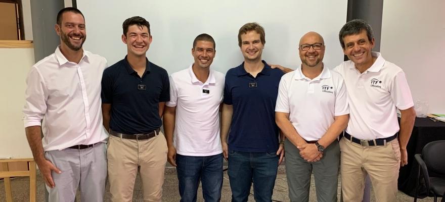 Três árbitros brasileiros recebem nova certificação em curso da ITF