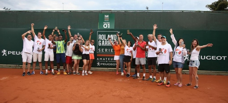 Etapa de Brasília do Roland-Garros Amateur Series chega ao fim com grandes partidas