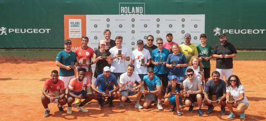 Etapa Rio de Janeiro do Roland-Garros Amateur Series se encerra com grandes jogos