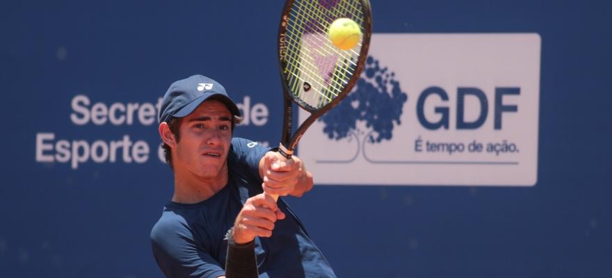 Três brasileiros estão na semifinal da Copa BRB de tênis em Brasília