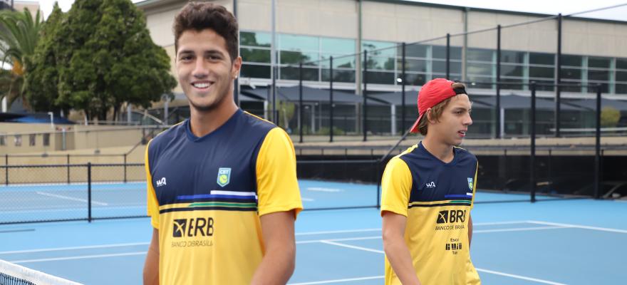 Nova geração do tênis brasileiro disputa Olímpia Tennis Classic