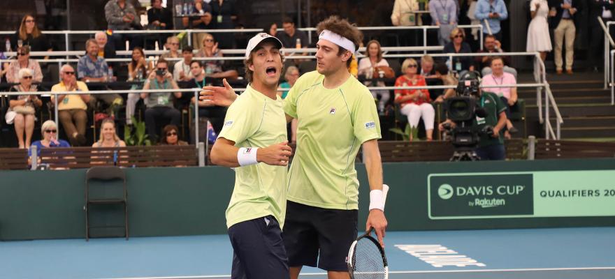 Brasil perde para a Austrália, mas vê futuro promissor na Copa Davis