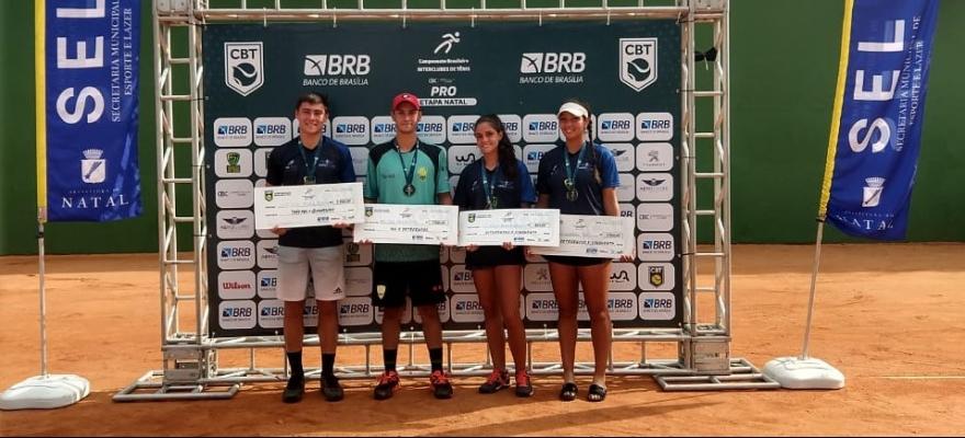 Lucius Soller e Lorena Cardoso são campeões do Campeonato Brasileiro Interclubes Profissional em Natal (RN)