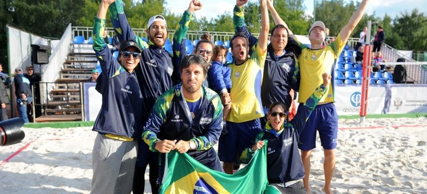 Atletas do Beach Tennis brasileiro terão fim de semana especial de treinamento