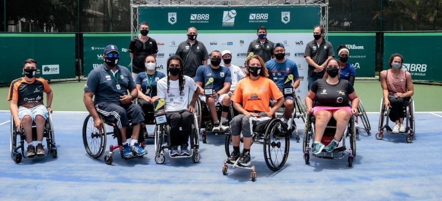 Favoritos ficam com o título na Copa BRB de Tênis Profissional em Cadeira de Rodas