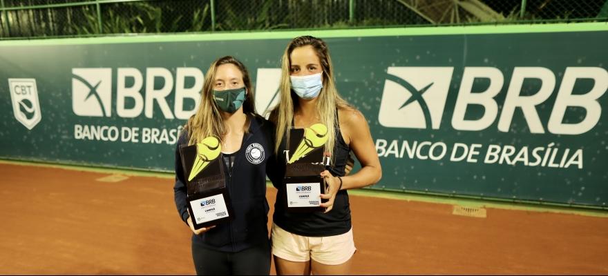 Campeões de duplas são definidos na Supercopa BRB de Tênis