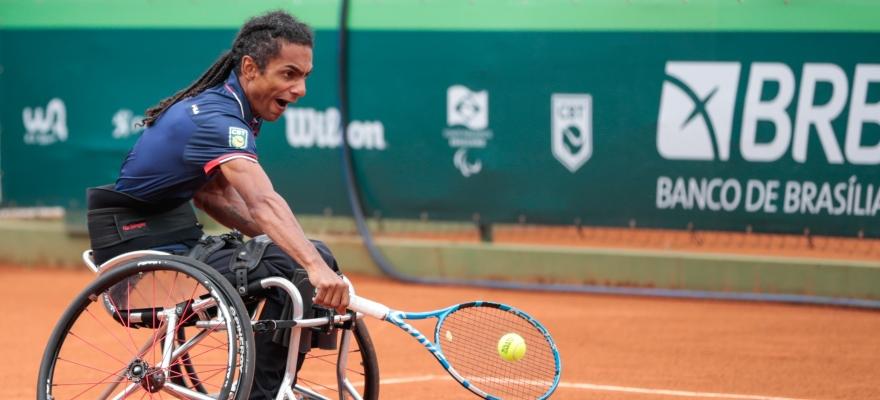 Daniel, Meirycoll e Ymanitu são campeões da 3ª Etapa da Copa BRB de Tênis em Cadeira de Rodas
