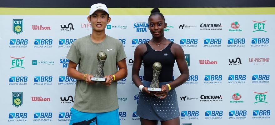 Chinês e francesa vencem na principal categoria do Banana Bowl, e brasileiros são destaques no 16 anos