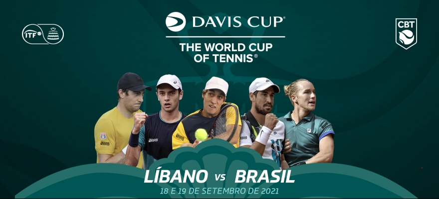 Matheus Pucinelli substitui João Menezes no Time Brasil BRB para a Copa Davis