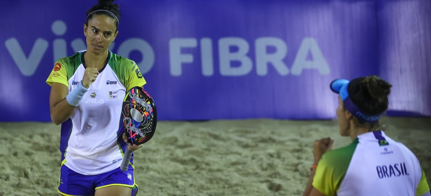 Brasil enfrenta Chile nas quartas de final da Copa do Mundo de Beach Tennis
